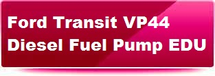 Ford Transit VP44 fuel pump. Click here for details
